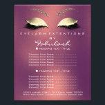 "Makeup Artist Beauty Salon Gold Glitter Flyer Rose<br><div class=""desc"">florenceK luxury beauty salon colletion</div>"