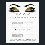 "Makeup Artist Beauty Salon Price List Flyer White<br><div class=""desc"">florenceK luxury beauty salon colletion</div>"