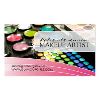 MAKEUP ARTIST BUSINESS CARD profilecard