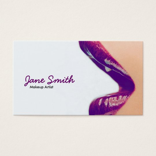 Makeup artist business card zazzle makeup artist business card colourmoves