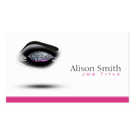 Chic Eye Makeup Artist Profile Cards