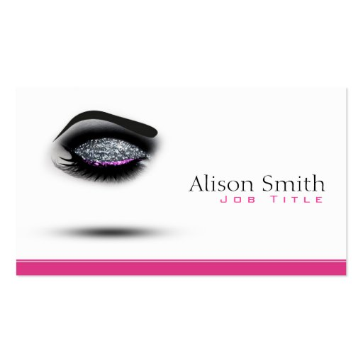 Makeup artist business card templates bizcardstudiocom for Makeup artist business cards templates