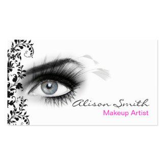 MakeUp artist business card Tarjeta De Negocio