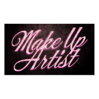 Makeup artist business card plantilla de tarjeta de visita
