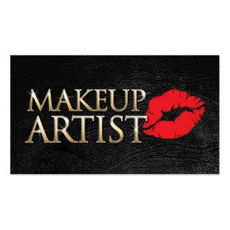 MakeUp artist business card Plantillas De Tarjetas De Visita