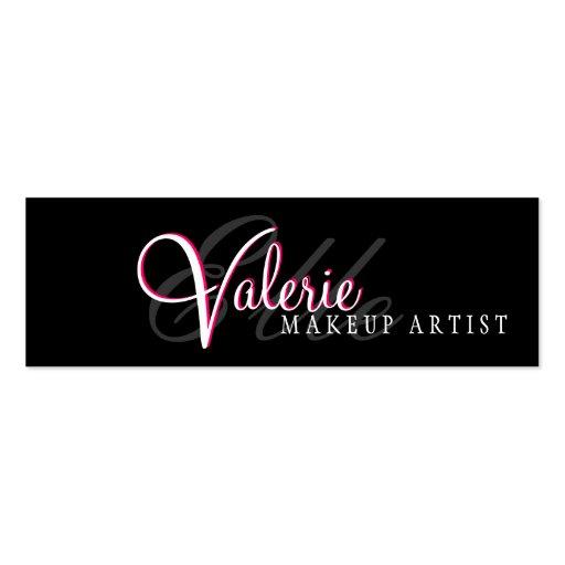 Makeup artist business card template for Makeup artist business cards examples
