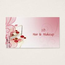 Makeup artist Business Cards