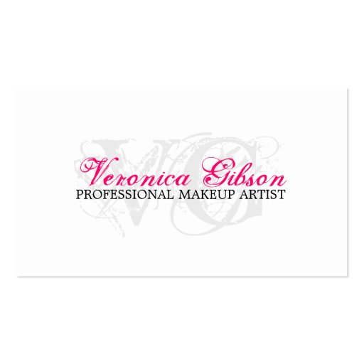 Makeup artist business cards zazzle akrossfo girly business cards girly business cards zazzle uk personalised gifts custom products amp dcor reheart Image collections