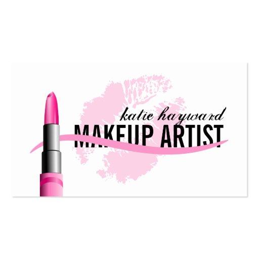 Makeup artist business cards zazzle for Makeup artist quotes for business cards