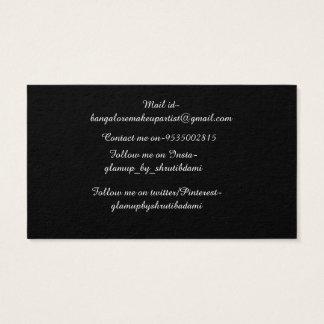 MAKEUP ARTIST BUSSISNESS CARD