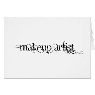 Makeup Artist Card