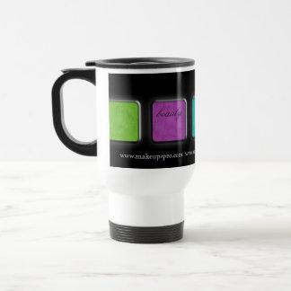 Makeup Artist Coffee Travel Mug gift palette