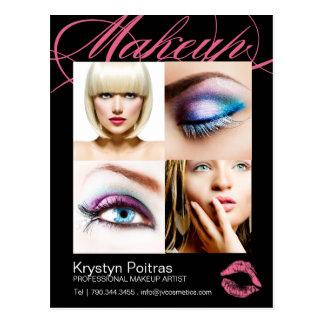 Makeup Artist Comp Card