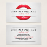 "Makeup artist cool red lips gray texture modern business card<br><div class=""desc"">A makeup artist cool red lips gray texture modern business card design. Customize this makeup artist cool red lips gray texture modern business card and give it your individual style. A professional modern customizable Business Card. Perfect for many professions looking for that visual creative edge over their competitors to stand...</div>"
