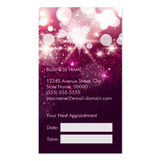 Makeup Artist Cosmetician Beauty Appointment Card