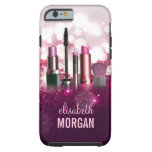 Makeup Artist Cosmetician - Pink Beauty Glitter Tough iPhone 6 Case