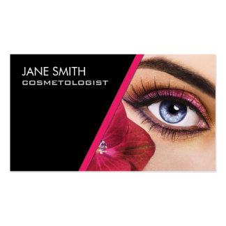 Makeup Artist Cosmetologist Cosmetology Elegant Business Cards
