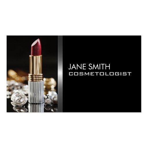 Makeup Artist Cosmetologist Cosmetology Elegant Double