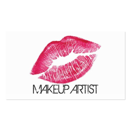 20 000 Makeup Artist Business Cards and Makeup Artist