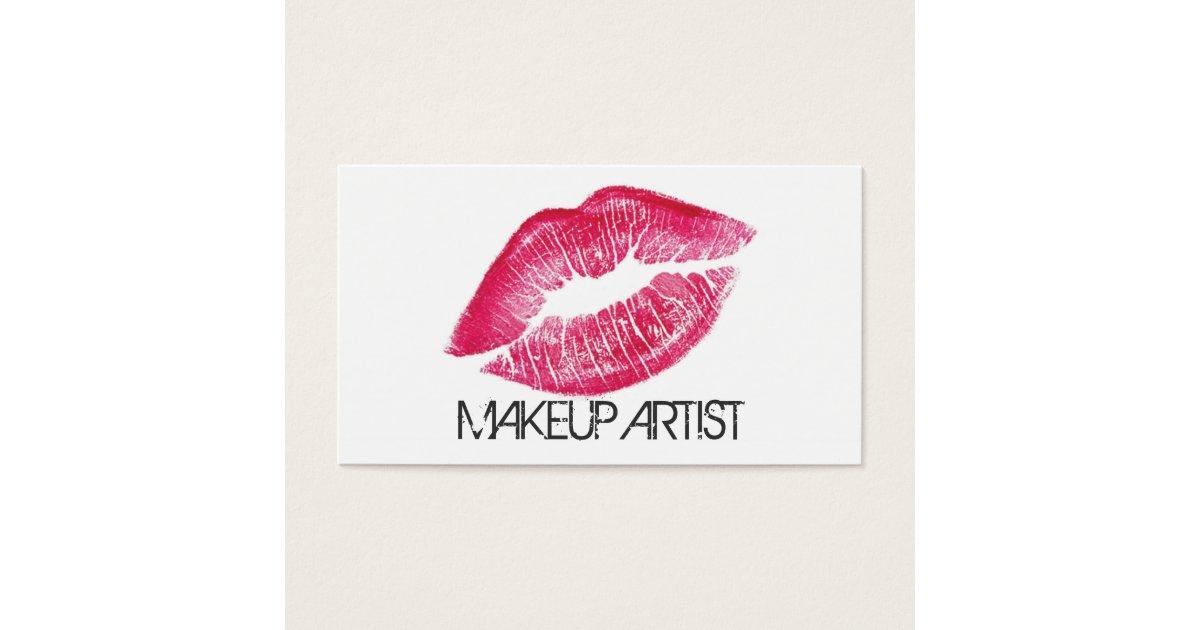 Makeup Artist Cosmetologist Cosmetology Elegant Business Card ...
