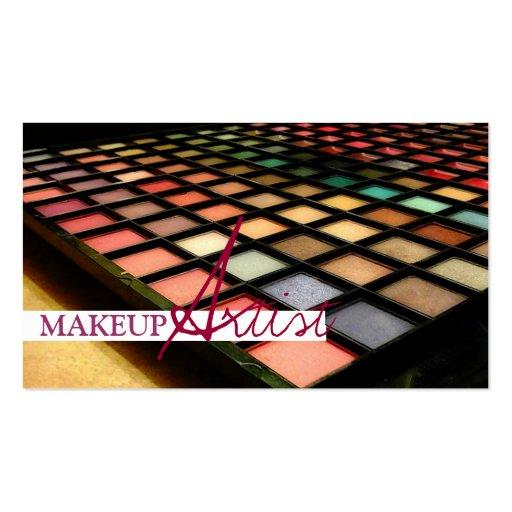 Makeup Artist Cosmetology Business Card