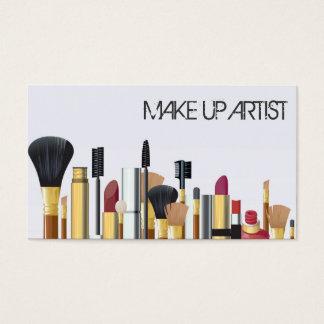 MakeUp Artist, Cosmetology Business Card