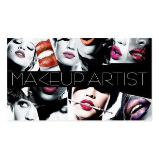 MakeUp Artist Cosmetology Salon Beauty Business Card Template