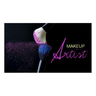 MakeUp Artist Cosmetology Salon Business Card