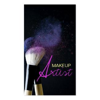 MakeUp Artist, Cosmetology, Salon Business Card Standard Business Cards
