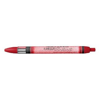 Makeup Artist Custom Black Ink Pen