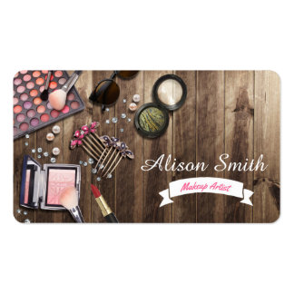 Makeup Artist Desk/Makeup Vanity Desk Business Card
