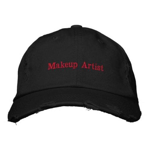 Makeup Artist Embroidered Baseball Cap