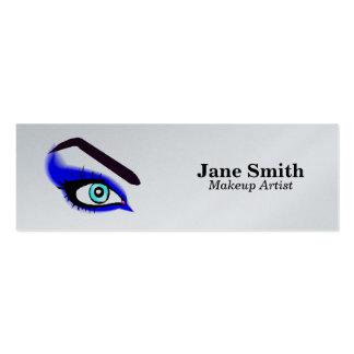 Makeup Artist/Eyebrow Waxing Mini Business Card