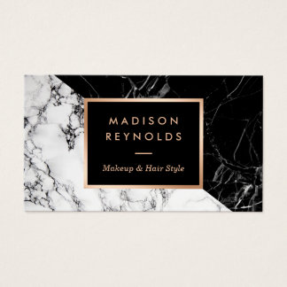 Black and white business cards templates zazzle for Fashion business card template