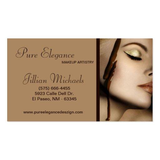 Makeup Artist Make Up Woman Business Card