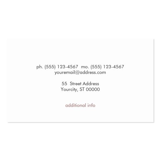 Makeup Artist Modern and Chic FAUX Sequin Black Business Card Template (back side)