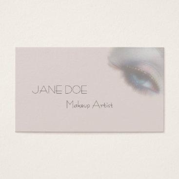 USA Themed Makeup Artist Modern Beauty Salon Business Card