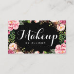"""Makeup Artist Modern Script Girly Floral Wrapping Business Card<br><div class=""""desc"""">Create your own business card with this &quot;Makeup Artist Modern Script Girly Floral Wrapping&quot; template. It&#39;s easy and fun! (1) For further customization, please click the &quot;Customize&quot; button and use our design tool to modify this template. All text style, colors, sizes can be modified to fit your needs. (2) If...</div>"""