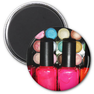 Makeup Artist Nail Polishe Eye Shadow Palette 2 Inch Round Magnet