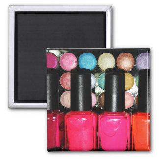 Makeup Artist Nail Polishe Eye Shadow Palette 2 Inch Square Magnet