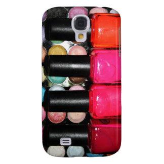 Makeup Artist Nail Polishe Eye Shadow Palette Galaxy S4 Cover