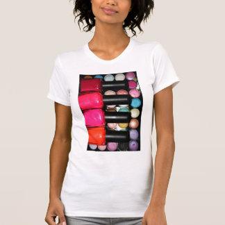 Makeup Artist Nail Polishe Eye Shadow Palette T-Shirt