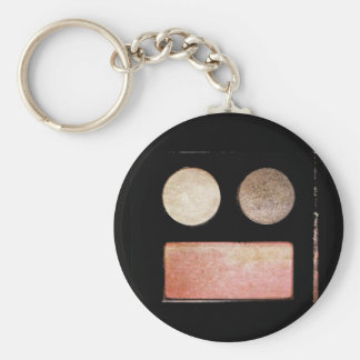 Makeup Artist Palette-Face by Shirley Taylor Keychain
