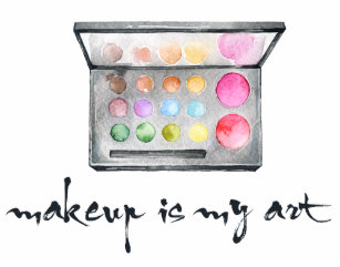 And makeup quotes office school products zazzle makeup artist palette makeup is my art quote business card colourmoves
