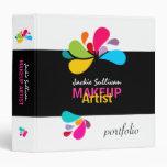 Makeup Artist Portfolio 1.5 Inch Binder