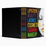 Makeup Artist Portfolio Binder