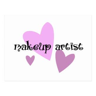 Makeup Artist Postcard