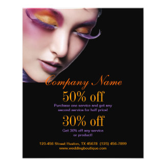 Makeup Artist Promotional Flyer