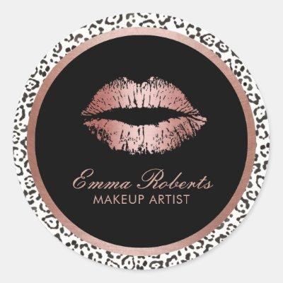 b13723d7a Leopard Print Eye Makeup Stickers Mugeek Vidalondon