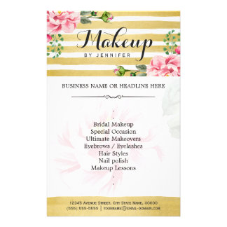 Makeup Artists Flyers & Programs | Zazzle